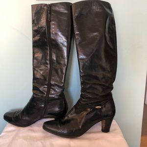 Salvatore Ferragamo leather boots